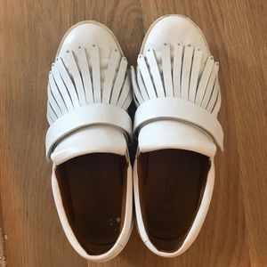 SOLD Marc Jacobs White Leather Sneakers